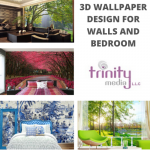 Customized 3D Printing Wallpaper Design For Bedroom