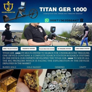 Titan Ger 1000 5 system by Ger Detect