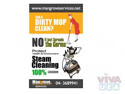 Deep/Steam Cleaning Services for Villas, Apartment, Offices,