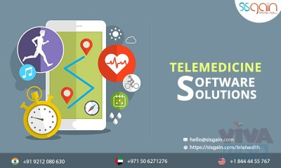 Find Custom Telehealth solutions in UAE | SISGAIN