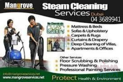 Deep/Steam Cleaning Services in Dubai Marina, JLT, JBR, Palm Jumeirah