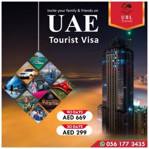 UAE TOURSIT VISA IS ON VERY BEST RATE