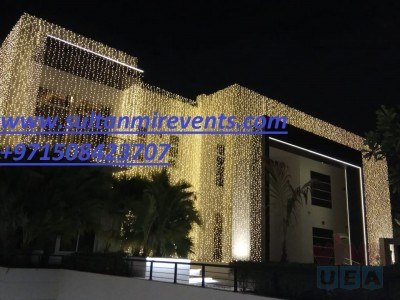 Rental Light services for weddings, parties etc