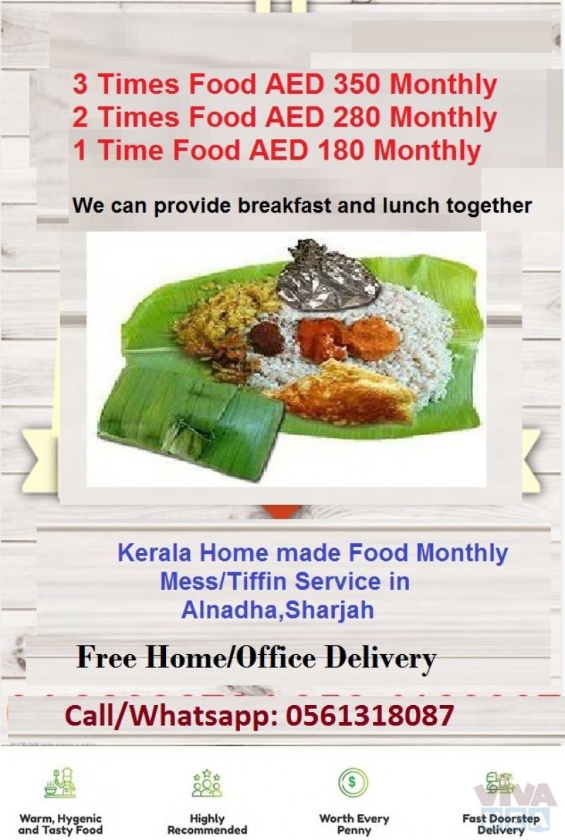 Homemade Kerala Food Mess Service