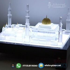Crystal Model of Grand Mosque for Hospitals in Dubai