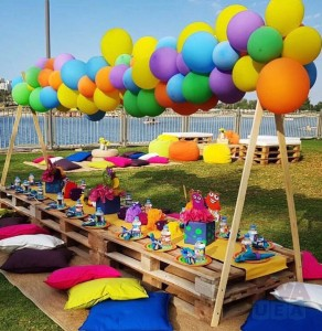 party wooden pallets