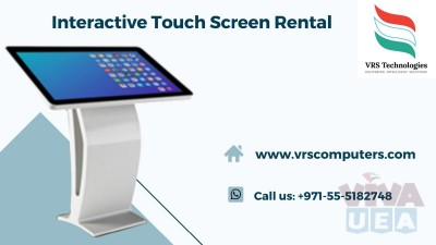 Touch Screen Rentals at VRS Technologies in Dubai