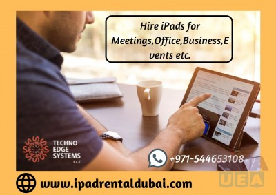 iPad Hire | Rent iPads for Events | Rent iPad Pro in Dubai