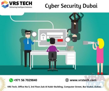 Best Cyber Security Solution Company in Dubai - VRS Tech