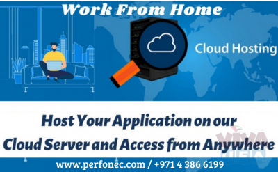 Cloud Services in UAE, Best Cloud Hosting Provider, Perfonec