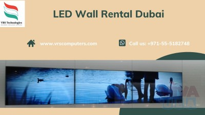 Video Wall Lease in Dubai at VRS Technologies