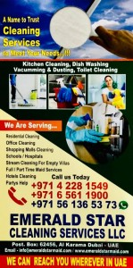 WE ARE PART TIME MAID SERVICES 25 AED PER HOUR