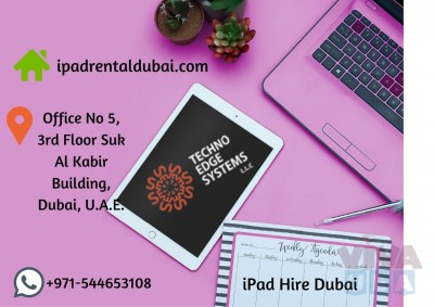 iPads for Rental | iPad Lease | Rental for Events in Dubai