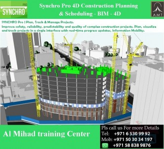 #Online Training or #Campus training on #Synchro Pro 4D #BIM.
