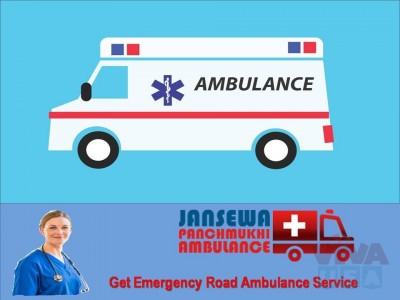 Avail 365 Days Emergency Road Ambulance Service in Purnia