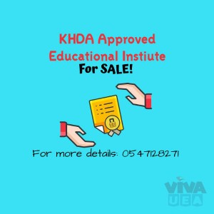 KHDA approved educational training institute for sale