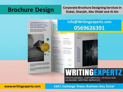 Designers for Profiles Brochures & Flyers in UAE WritingExpertz.com WhastApp Us On 0569626391