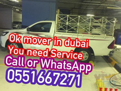 MOVER IN DUBAI YOU NEED CALL ME  0551667271