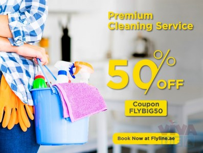 BIG 50% Discount!! Get 2hrs Maid service for AED 35