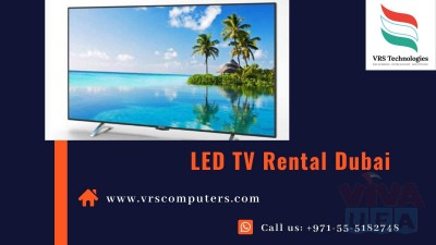 TV Rental Services at VRS Technologies in Dubai
