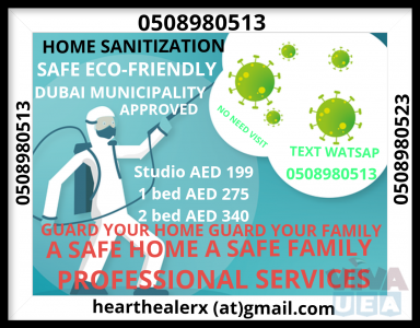 HOME SANITIZATION DISINFECTION   APPROVED AGENT