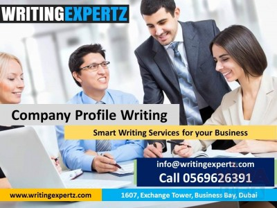6 Page Dial Us 0569626391  Company Profile Design in UAE–Get Quote WRITINGEXPERTZ