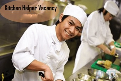 Urgent hiring for Kitchen Helper