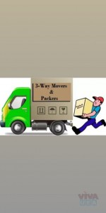 3-Way Movers Packers And Shifters Services 050 3449 740