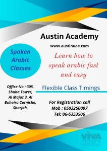 Arabic Classes in sharjah with good offer 0503250097