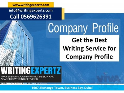 Company Profile Master Whatsapp On 0569626391 in UAE by Dubai Development Writers