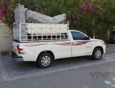 pickup for rent in abu hail 0504210487