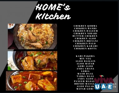 HOME COOKED HEALTHY FOOD / LADY CHEF / MONTHLY MESS LUNCH / DINNER (Sharjah - Dubai)