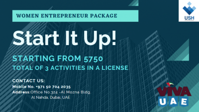 SHARJAH MEDIA CITY WOMEN ENTREPRENEUR PACKAGE