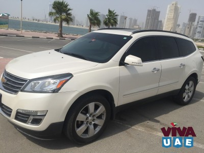 Chevrolet Traverse LTZ ( Full Options ) GCC SPecs
