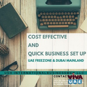 Cost Effective and Quick business set up in UAE