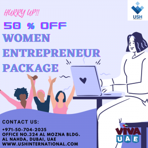 50 % DISCOUNT WOMEN ENTREPRENEUR PACKAGE