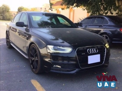 Audi A4, S-Line, 2.0L Turbo, Full Option, GCC Specs.