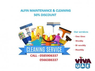 Now Maintenance & Cleaning services in Half price I CALL-0585906337