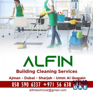 Alfin Building Cleaning Services Ajman - 0585906337