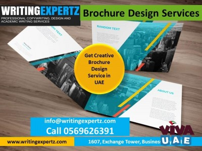 Design / WRITINGEXPERTZ Printing WhatsApp On US 0569626391  for Profiles, Brochures, Flyers–Dubai