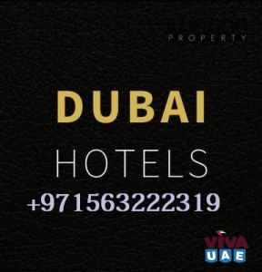 Hotels and Hotel apartments for Rent in Dubai call Bilal+971563222319