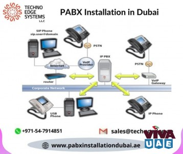 Business PABX Phone Installation Services in Dubai