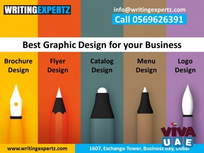 WRITINGEXPERTZ Design / Printing for Profiles, WhatsApp On US 0569626391  Brochures, Flyers–Dubai