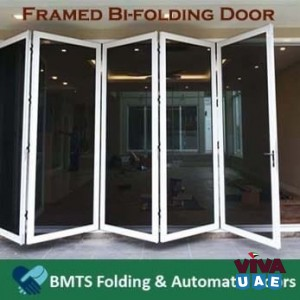 Framed Bi-Folding Doors in UAE, Framed Bi-Folding Doors in Dubai - BMTS Automatic Doors