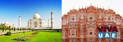 Heritage of Agra & Jaipur to Bharatpur Sanctuary.