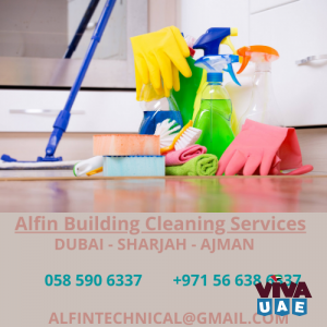 ALFIN BUILDING CLEANING SERVICES CALL  - 0585906337