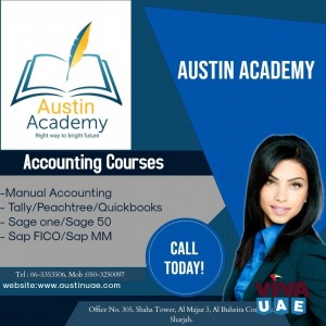 Accounting Training in Sharjah With special offer 0503250097