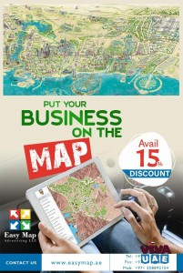 Dubai Wall Maps Designing-EASY MAP ADVERTISING