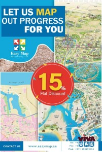 Map Designers in Dubai, UAE-EASY MAP ADVERTISING