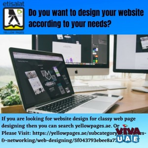 Do you want to design your website according to your needs in UAE?